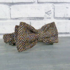 Harris Tweed Pre Tied Bow Tie - Multi autumnal colours
