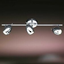 LED Plafoniera lunga faretti 3x2,4W ottone opaco metallo IP20 design NEW 86147