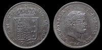 pci1132) Napoli Regno delle Due Sicilie Ferdinando II Piastra 120 gr 1854