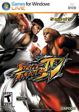 Street Fighter IV (Game Only) PC New Windows XP, Windows Vista, Pc