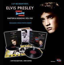 Elvis Presley - MRS: MASTERS & SESSIONS 1953 – 1955 - 2LP 180 Gram Vinyl - New