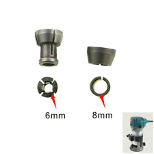 Collet Chuck 6 & 8mm For Zen Makita & Katsu Router/Trimmer