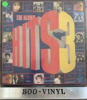 Various HITS 3 The Album 2xLP 1985 HITS 3 G/F Sleeve Ex Con 80s Ex Con