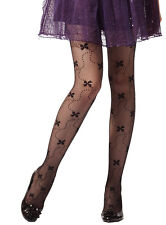 Butterfly with Trail of Dots Cute Tights/Stockings