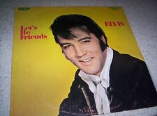 ELVIS LET'S BE FRIENDS  THIRTY SEVENTH ALBUM  1970 LP