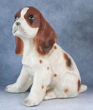 Vintage Ceramic 4 Inch Cocker Spaniel Dog Figurine
