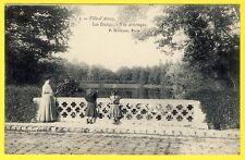 cpa 92 - VILLE d'AVRAY (Hauts de Seine) Les ÉTANGS Vue Artistique Animée