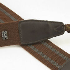 Brown Adjustable Non-slip Cam-in DSLR Camera Strap CAM1211A UK Stock