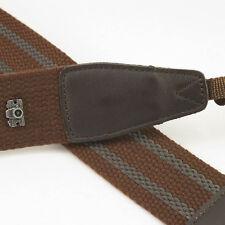 Brown Adjustable Non-slip Cam-in DSLR Camera Strap CAM1211A UK Stock