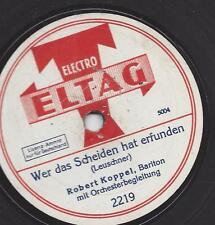 Robert Koppel aus Bochum singt : Köln am Rhein
