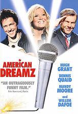 American Dreamz  DVD Hugh Grant, Dennis Quaid, Mandy Moore, FREE SHIPPING!!