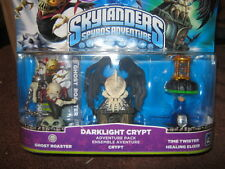 SKYLANDERS SPYROS  3 PACK  DARKLIGHT CRYPT GHOST ROASTER TIME TWISTER HEALING