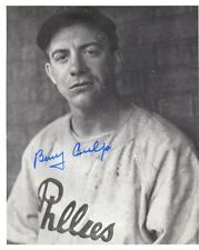 Benny Culp (d.2000) Signed 8x10 Photograph Autographed Photo Phillies A's