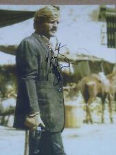 Robert Redford signed 8x10 photo