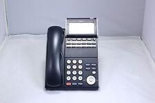 NEC DT300 DTL-12D-1 12 Button Display Phone Black