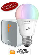 OSRAM LIGHTIFY SMART HOME KIT 1 - CLASSIC A 60 RGBW E27 Glühlampe 929715