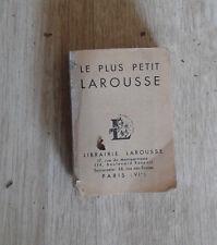 Le plus petit Larousse. 1969. 6 x 8,3 cm.