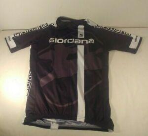 Giordana Cycling Jersey - Black, Gray, White - Like New NR