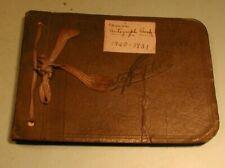 1928-'31 Autograph Book Belonging to Clara Smith Fort Plain Ny