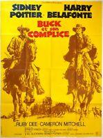 Plakat Kino Western Buck Und Sound Komplize Sydney Poitier - 120 X 160 CM