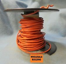FIXTURE WIRE  12 AWG, 60 FT, 600V, ORANGE