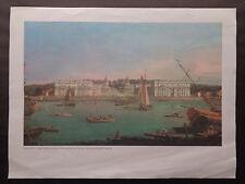 "Imprimer: Canaletto ""Royal Hospital de Greenwich""."