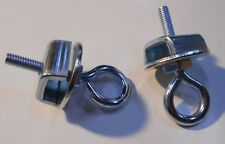 """Lot of 2  End Stops for Walk Along Stage Curtain System  fits 1 1/4"""" wide track"""
