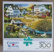 """Buffalo Games Charles Wysocki 300 Large Piece Puzzle,""""Hound of the Baskervilles"""""""