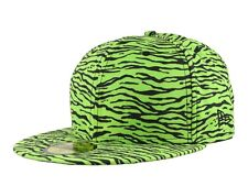NEW ERA x JEREMY SCOTT Tiger LIMITED 59Fifty CAP Hat LIME GREEN BLACK 7 1/2 nwt