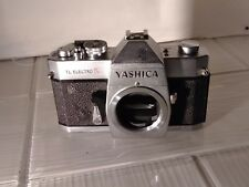 Yashica TL Electro SLR 35mm SLR Film Camera Body Only Great Action Parts