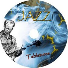 JAZZ MASTERS GUITAR TAB TABLATURE CD BEST OF MUSIC FINGERSTYLE ACOUSTIC SONG
