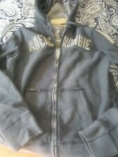 Abercrombie & Fitch Large Mens Hooded Sweat Shirt Hoodie vintage Heavy Weight L