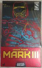 1/6 Marvel Hot Toys Iron Man MMS256 D07 Die-Cast Mark III MK3 Mark 3