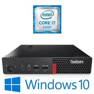 Lenovo ThinkCentre M710q Tiny Intel i7 6700T 16G 256G/500G SSD NVMe Win 10 Pro