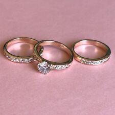 Bagatiba Rose Gold 3 Piece Ring