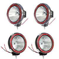 4pcs 7 inches 4x4 Off Road 6000K 55W Xenon HID Fog Lamp Light 2xSpot+ 2xFlood