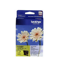GENUINE Original Brother LC39Y YELLOW Ink Cartridge Toner