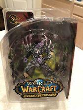 "Dc Comics World of Warcraft Series 3 Skeeve Sorrowblade 9"" Figure New Nip Rare"