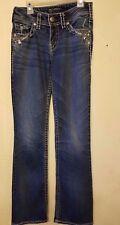 Silver Jeans Suki Womens Boot Cut Jeans Size W25/L32