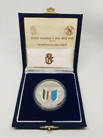 Medaglia medal zecca argento Napoli primo scudetto 1987 MARADONA no maglia