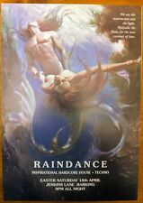 Raindance Resurrection 1992 Acid House Rave Flyer