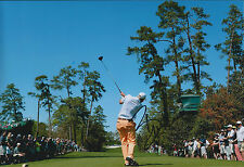 Bill HAAS SIGNED 12x8 Photo AFTAL Autograph COA US Masters Augusta National Golf