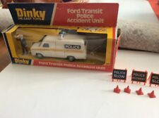DINKY TOYS MECCANO FORD TRANSIT POLICE ACCIDENT UNIT #269 PICTURE BOX ENGLAND