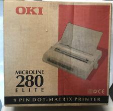 OKI Microline 280 Elite 9 Pin Dot Matrix Printer