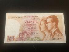 50 Frank 50 Francs 16.05.1966 Belgique Belgïe Belgium
