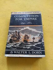 The Rise Of Modern Europe Competition For Empire Walter dorn 1940 dust cover