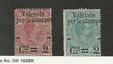 Italy, Postage Stamp, #60-61 Mint No Gum, 1890, JFZ