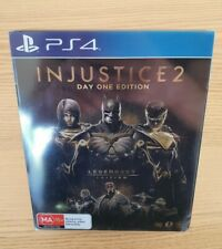 Injustice 2 Day One Edition Steelbook PS4 - PlayStation 4 - No disc /game