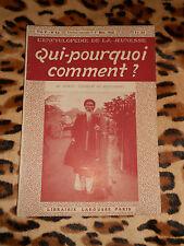 REVUE - Qui-pourquoi-comment ? Encyclopédie de la jeunesse - n° 42, 1918