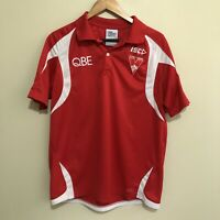 Sydney Swans ISC AFL Football Polo Shirt Mens Large